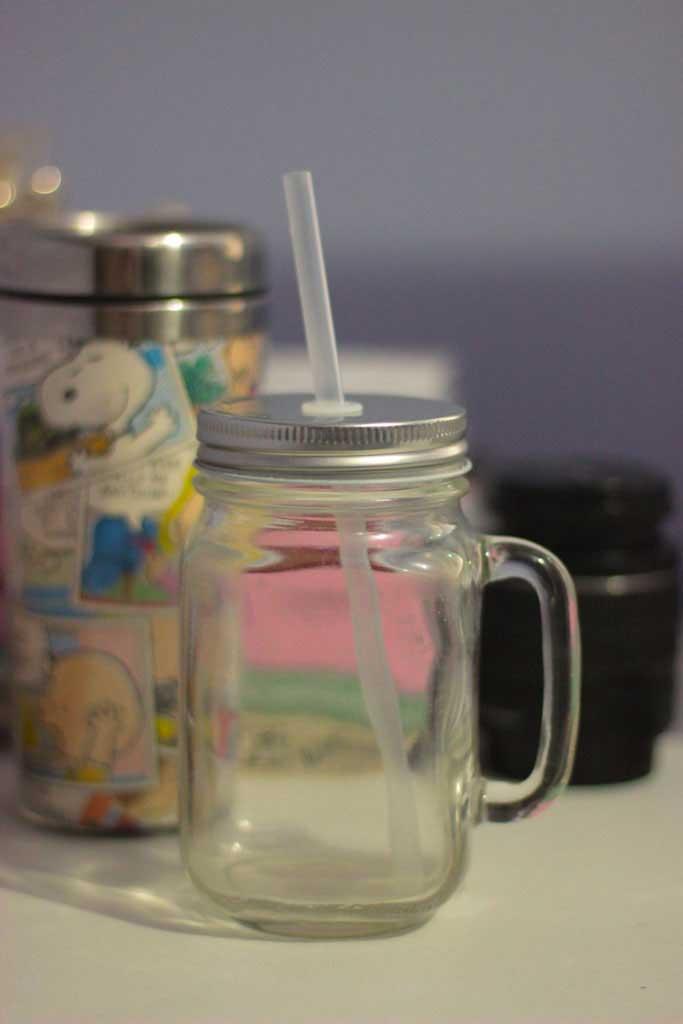 Fotografando objetos de vidro