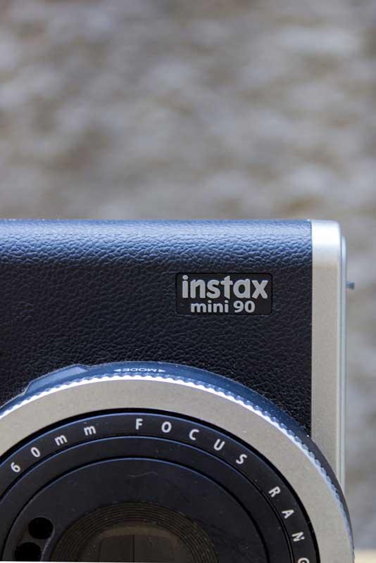 Detalhes da Instax Mini 90
