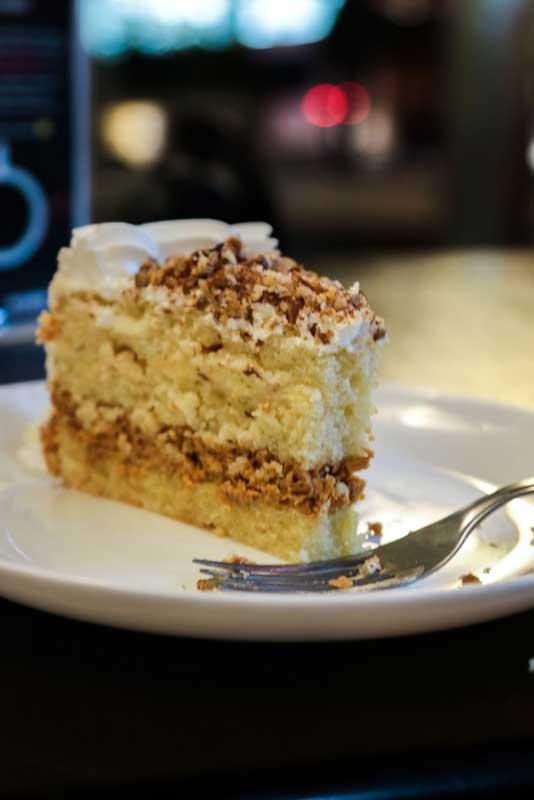 Café com doces e bolos