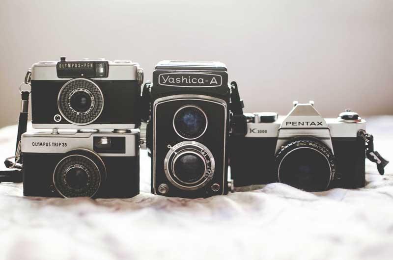 Câmeras analógicas