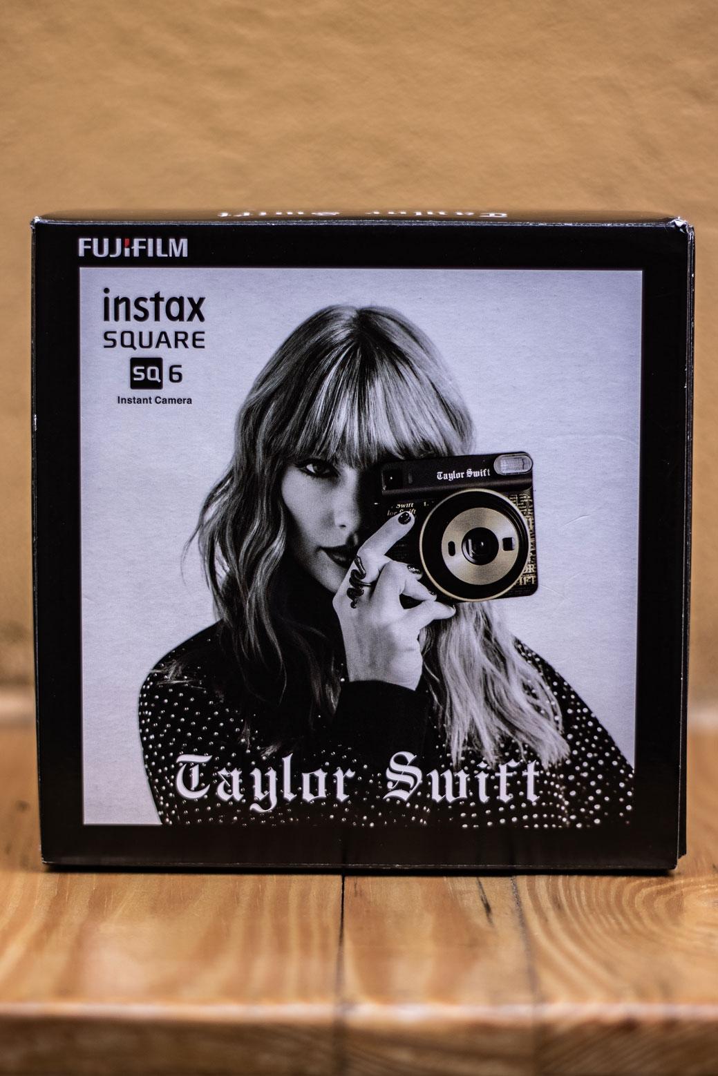 Caixa dacâmera Taylor Swift