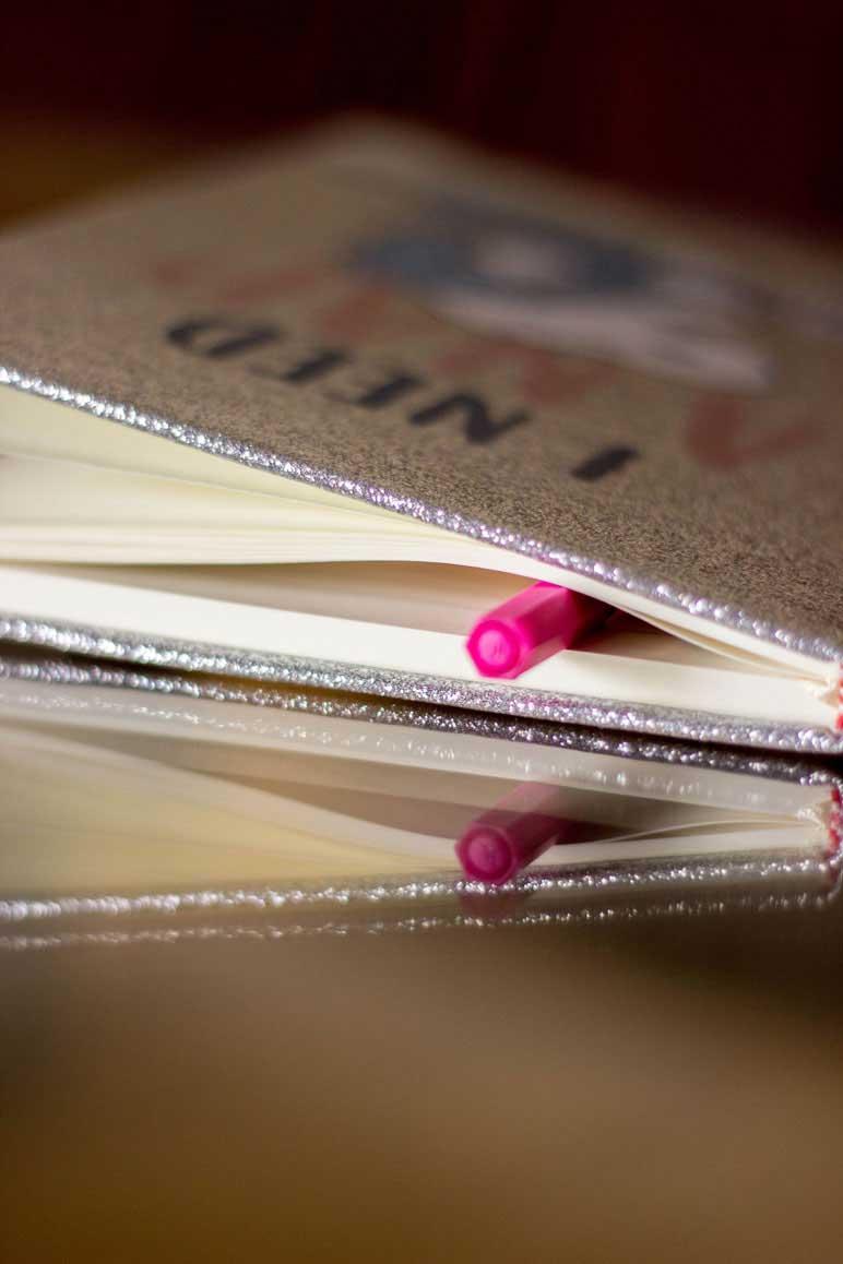 Caderno para anotação