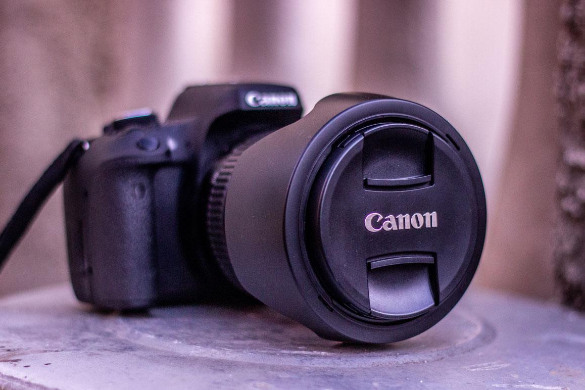 Canon T6i minha câmera principal
