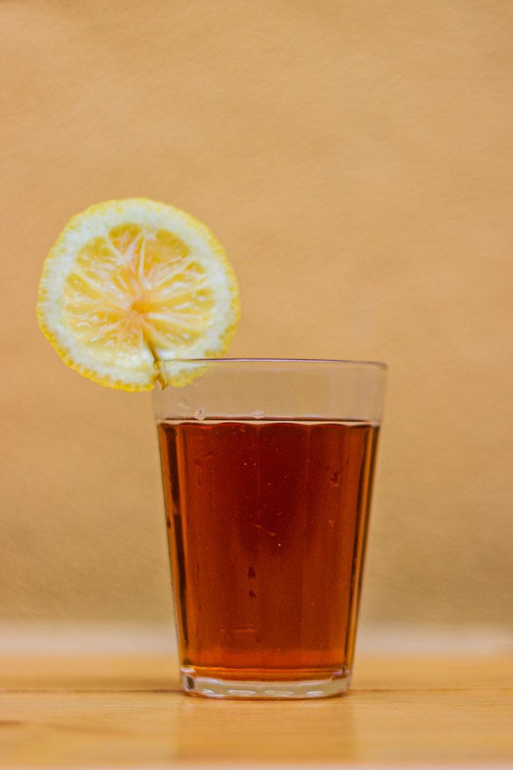 Cold Brew com limão