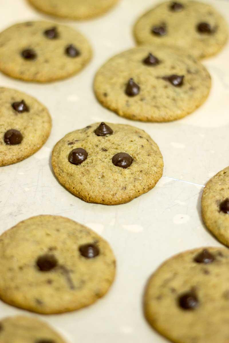 Cookies assados