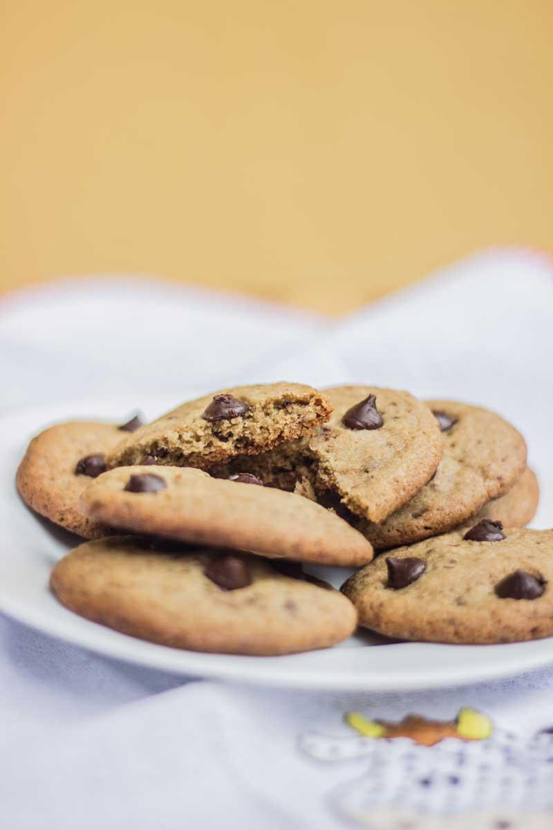 Cookie de baunilha