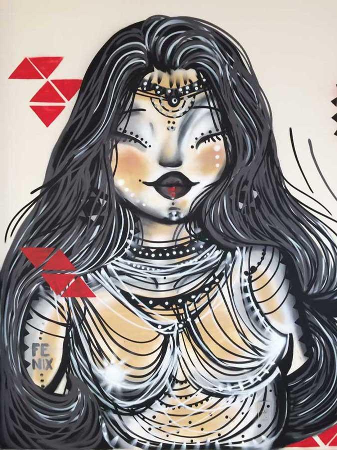 A arte da grafitagem nas paredes do Centro de Referência a Juventude em BH